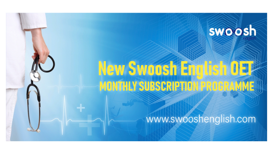 New Swoosh English OET Monthly Subscription Programme small image banner