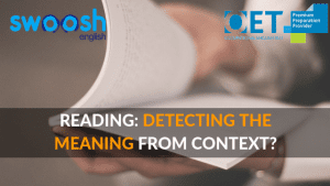 Swoosh English Reading: Detecting the meaning from context image banner