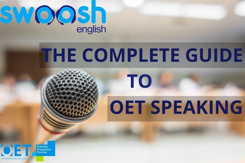 The Complete guide to OET speaking image banner