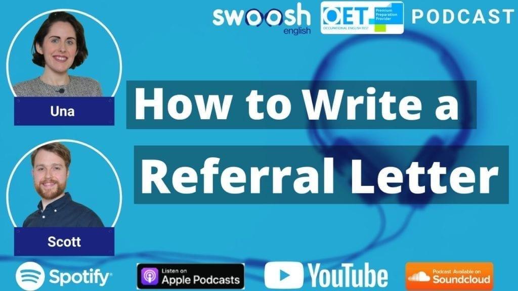 OET Referral Letter, OET Writing Task